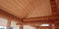 Отделка деревянного  дома вид 5