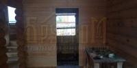 Отделка деревянного  дома вид 8