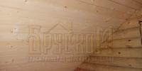 Отделка деревянного  дома вид 9