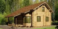 Деревянный дом Популярный (фото)