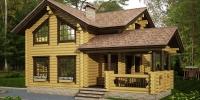 Деревянный дом Проверенный (фото)