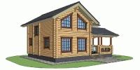 Деревянный дом Проверенный (Вид 2)
