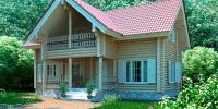 Деревянный дом Теплый (Фото)