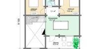 Деревянный дом Тихий (План 2)