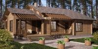 Деревянный дом Удобный (Фото)