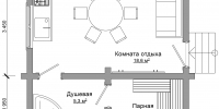 Баня Уют (План)