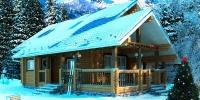 Деревянный дом Уютный (фото)