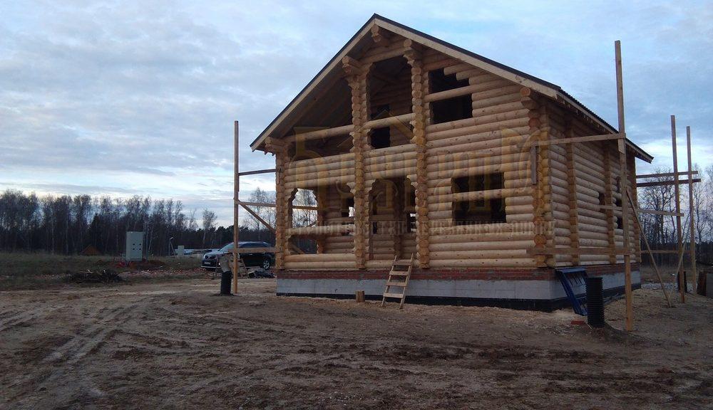Строительство дома д.Райсемёновское