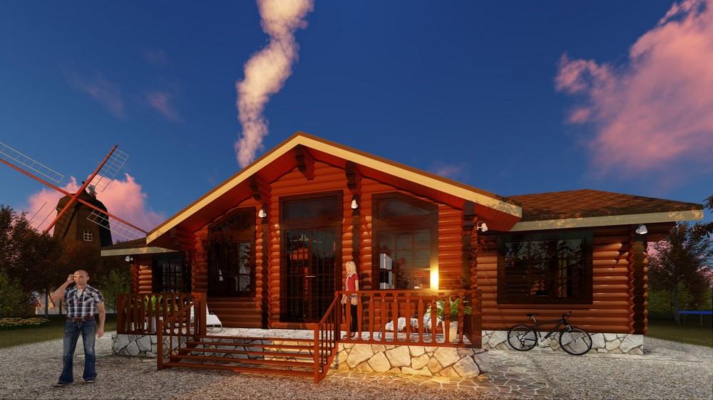 Дом-баня «Рязань»